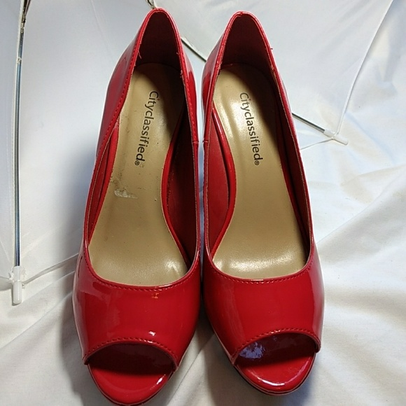 17959be5dd1c city classified Shoes - City Classified red pumps